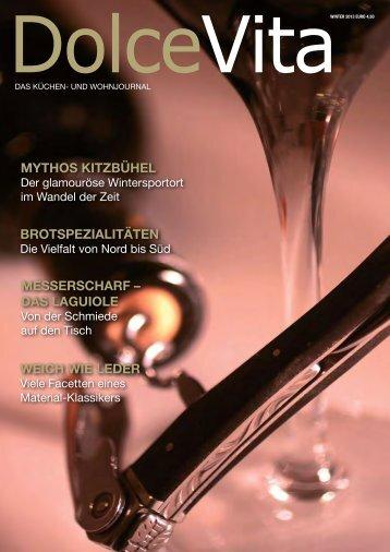 Dolce Vita Magazin Winter 2013 - W-Brugger