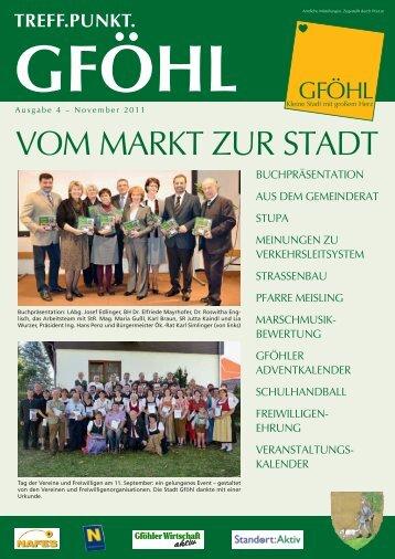EP:Zierlinger - Stadtgemeinde Gföhl