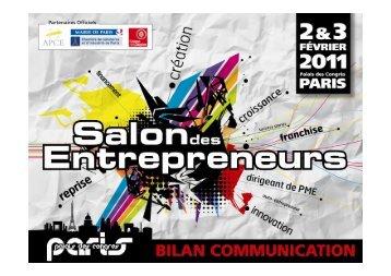 2 maritima 2010 for Salon des entrepreneurs paris
