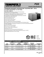 Package Gas PGS090 to 150