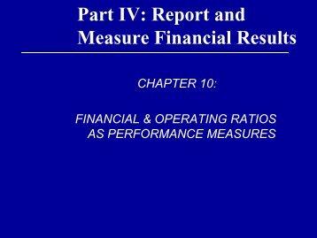 Solvency Ratios Debt Service Coverage (DSCR) — Represents the ...