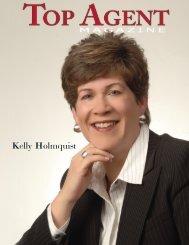 Kelly Holmquist - Top Agent Magazine
