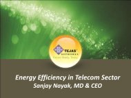 Energy Efficiency in Telecom Sector