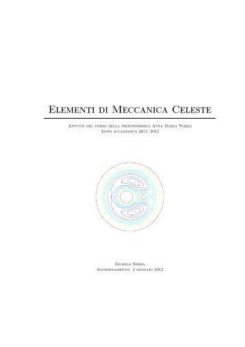 Elementi di Meccanica Celeste