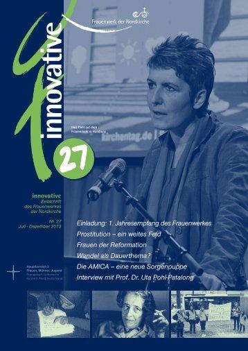Innovative 27 - Nordelbisches Frauenwerk - Nordkirche