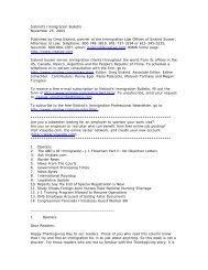 Siskind's Immigration Bulletin November 25, 2003 ... - Siskind, Susser