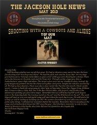 News May 2013 - Jackson Hole Gang