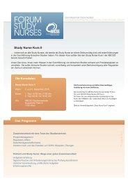 Download Einladung + Anmeldeformular - Forum Study Nurses ...