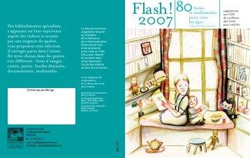 Télécharger Flash 2007 - La joie par les livres