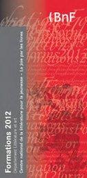 Programme - La joie par les livres - Bibliothèque nationale de France