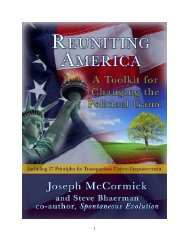 About Joseph McCormick - National Coalition for Dialogue and ...