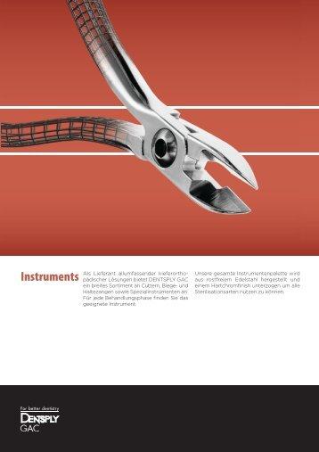 Instrument - GAC-Ortho.com