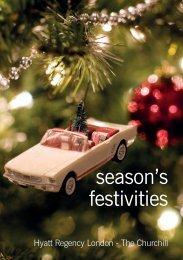 season's festivities