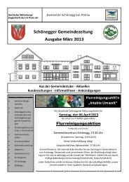 März 2013.pub - Gemeinde Schönegg bei Pöllau