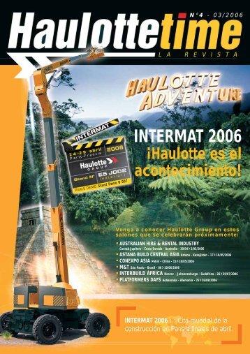 INTERMAT 2006 - Pinguely Haulotte
