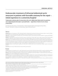 Endovascular treatment of infrarenal abdominal aortic aneurysm in ...
