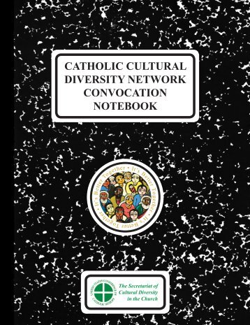 catholic cultural diversity network convocation notebook