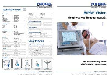 BiPAP Vision - HABEL Medizintechnik