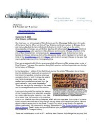 09/06/2005 New Orleans and Chicago - Index of