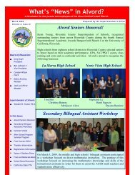 English - Alvord Unified School District
