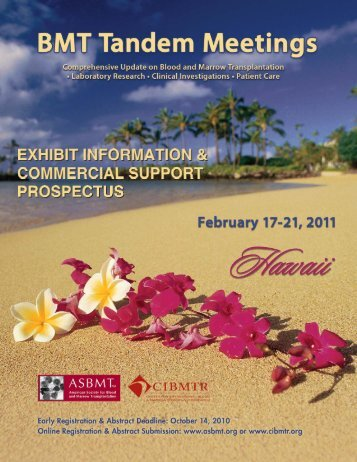 2011_Tandem_Exhibit - Center for International Blood and Marrow ...