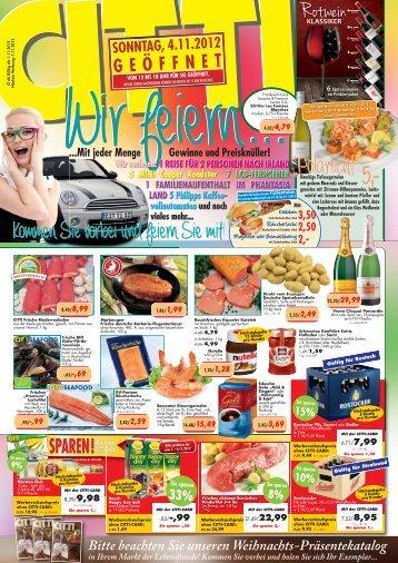 sparen - CITTI-Markt