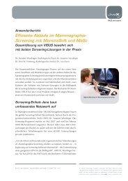 Radiologische Praxis Dr. Susanne Wurdinger und ... - visus