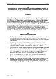 05/04 Richtlinien über Sportlerehrung und Verleihung von
