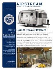 2007 Bambi Brochure - Rvguidebook.com