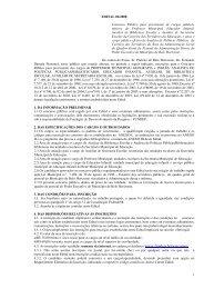 1 EDITAL 02/2008 Concurso Público para provimento de ... - Fundep