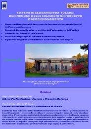 sistemi di schermatura solare - Collegio dei Periti Industriali e dei ...