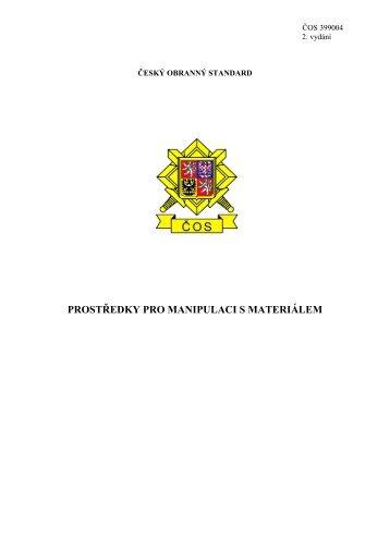 české obranné standardy - Odbor obranné standardizace ...