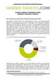 esomar industry report - Marketagent.com