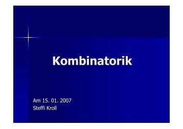 Kombinatorik + Simulationen