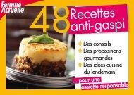 livret de recettes anti-gaspillage - EcoGeste