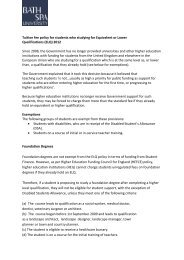 Tuition fee policy for students who studying for Equivalent or Lower ...