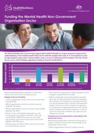Funding the Mental Health Non-Government Organisation Sector (.pdf)
