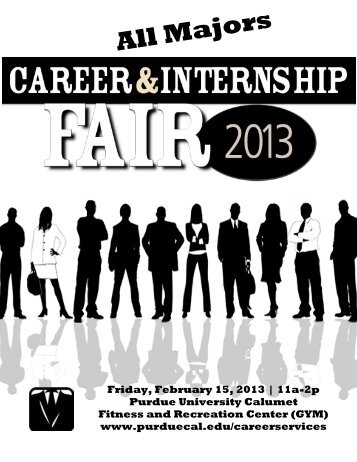 Download the booklet from the Career and Internship Fair, and ...