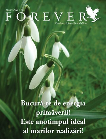 Martie 2011 - Forever Living Products International