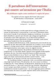 Disponibile anche in pdf - Gandalf
