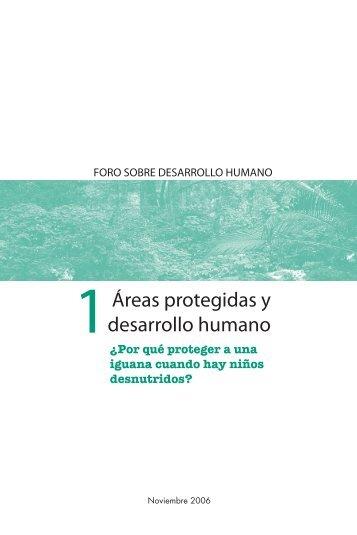 Áreas protegidas y desarrollo humano - Centro de Documentación ...