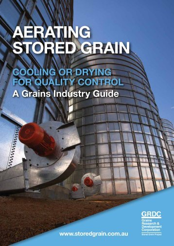 GRDC Aerating Stored Grain - Customvac