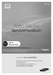 BDA Samsung NaviBot PopOut DEUTSCH - myRobotcenter
