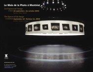Avant Programme 2009 - Mois de la photo à Montréal