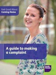 complaints form - Family Mosaic