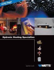 Hydronic Heating Specialties - Watts Water Technologies, Inc.