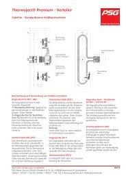 Zubehör - Standardisierte Heißkanalverteiler Premium - PSG Plastic ...