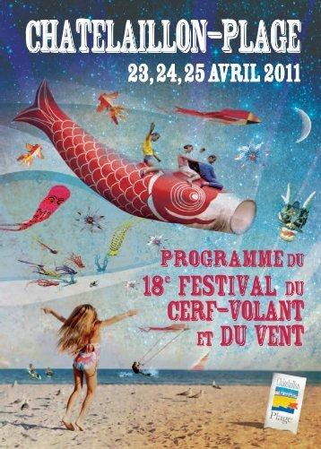 Programme - Châtelaillon-Plage Tourisme