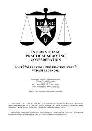 Pravidla IPSC pro krátkou zbraň 2012 - Asociace praktické střelby ČR