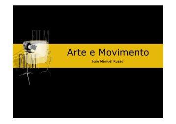Arte e Movimento - Home Page de José Manuel Russo